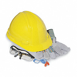 Hard Hat Construction Kit, Basic, Yellow