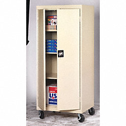 Mobile Storage Cabinet, Dove Gray
