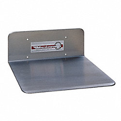 Nose Plate, Aluminum, 16x12 In., J Ext