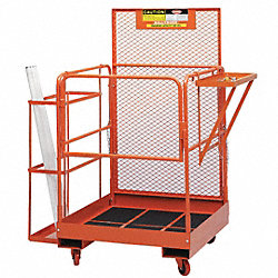 Fork Deck Maintence Platform, 89 In. H