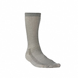 Hiking, Socks, Crew, Mens, M, Olive, 1 Pr