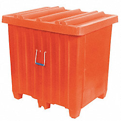 Ribbed Container, 14cu.ft., 400lb., White