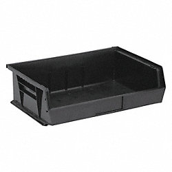 Stack & Hang Bin, 14-3/4L x 16-1/2W, Black