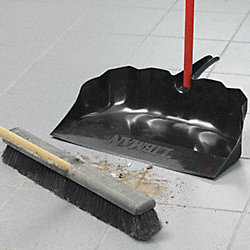 Dust Pan, Jumbo Shop, Telescopic Handle