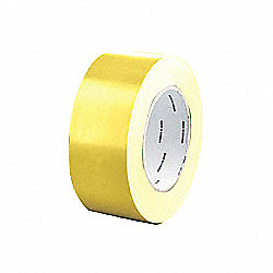 Sealing Tape, Yellow, 2 In Roll