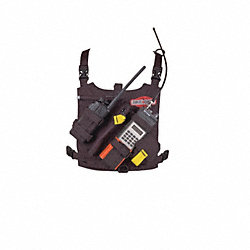 Radio Chest Harness, Black