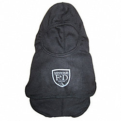 Fire Hood, Universal, 13 In L, Black, HRC 2