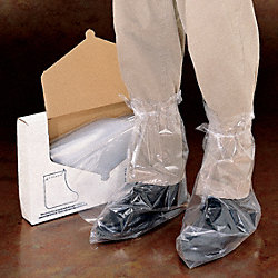 Boot Covers, 2XL, Clear, PK 50