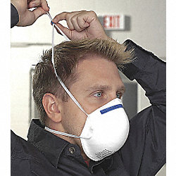 Disposable Respirator, N95, S/M, PK 20