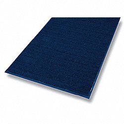 Entrance Mat, Blue, 3/8 In, 6 x 60 ft