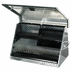 MEDIUM TOOL BOX ALUMINUM