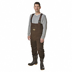 Chest Wader, Size 11, Dark Brown, PR