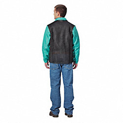 Welding Jacket, Green, 3XL