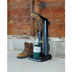 Propane Boot Dryer, 10-1/4 In. Tube, Black