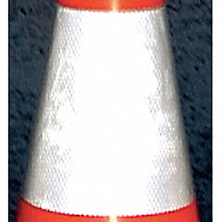 Reflective Traffic Cone Collar, Gray