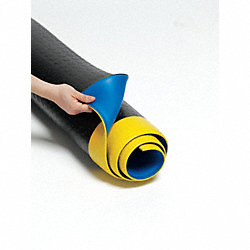 Deck Top Mat, 75 ft x 2 ft, Black/Yellow
