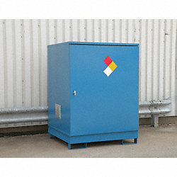 Non Combustible 4 Drum Locker