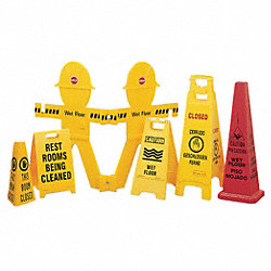 Floor Stand Sign, Caution Men Working