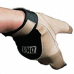 Anti-Vibration Glove, L, Tan,