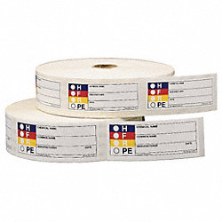 HMIG Label, 1-1/8 In. H, Paper, PK 1000