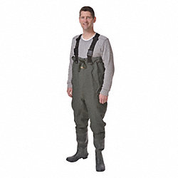 Chest Wader, Size 10, Dark Green, PR