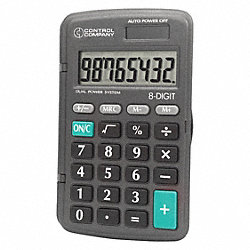 Calculator, Pocket, 4-1/4 In.