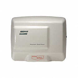 Hand Dryer, 115, Aluminum
