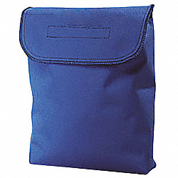Respirator Storage Bag, Blue, Polyester