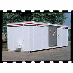 Outdoor Storage Building, Steel, 9Hx8Wx32D