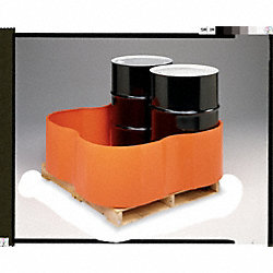 Four Drum Spill Container, Orange