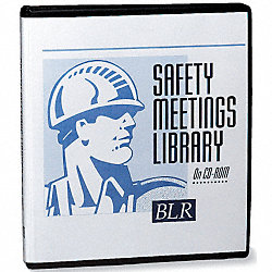 Safety Meetings Library, CD-ROM