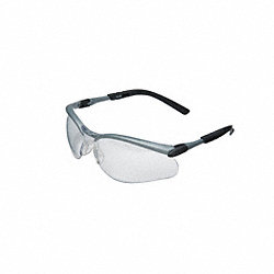 Safety Glasses, Clear, Scratch-Resistant