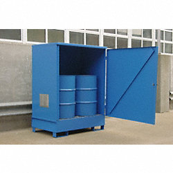 Non Combustible 2 Drum Steel Locker