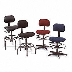 Industrial Stool, 250 lb., Black