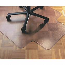Chair Mat, Rectangular, Carpet, 46x60In
