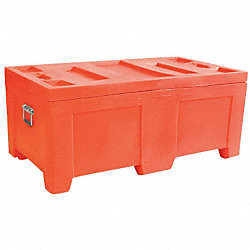 Container, 16.5Cu-Ft., 650lbs., Orange