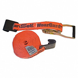 Tie-Down Strap, Ratchet, 27ft x 2In, 4000lb