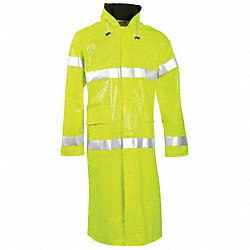 Arch Flash Rain Ct W/Hd, XL, HiVis Lm Ylw