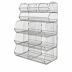 Stacking Basket, 9Hx36Wx14D