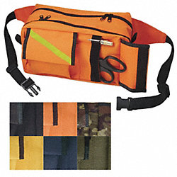 Fanny Pack, Nylon, Orange, 10inx6inx5in.