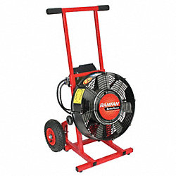 PPV Fan, Electric, 16 In, 1.5 HP