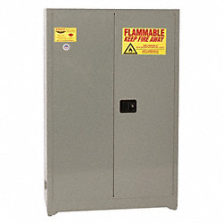 Supply Cabinet, 65x43x18, Gray, Stl, 4 Shelf