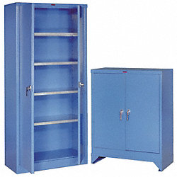 Utility Cabinet Base, Fork Lift, 18In, Blue