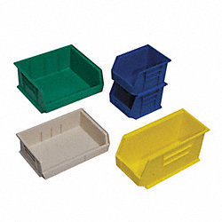 Stack & Hang Bin, 4-1/2L x 4-1/8W, Blue