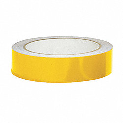 Marking Tape, Roll, 1In W, 15 ft. L