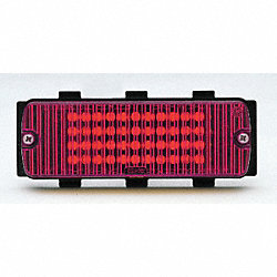 Warning Light, LED, Red, Surface Mount