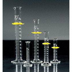 Graduated Cylinder, Glass, 100 mL, 4 pk.