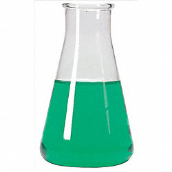 Erlenmeyer Flask, 500mL, Wide, Pk 6