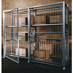 Welded Wire Adjustable Shelf, W44-1/2, D36