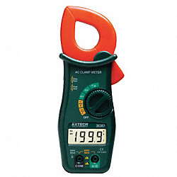 Digital Clamp On Ammeter, 600A, 600V